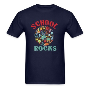 School Rocks Mens - Men's T-Shirt