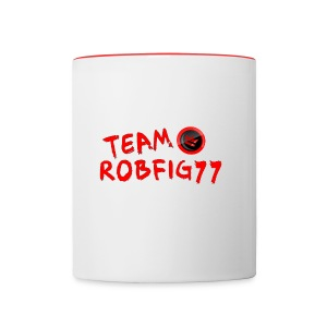 Team RobFig77 T-Shirt - Contrast Coffee Mug