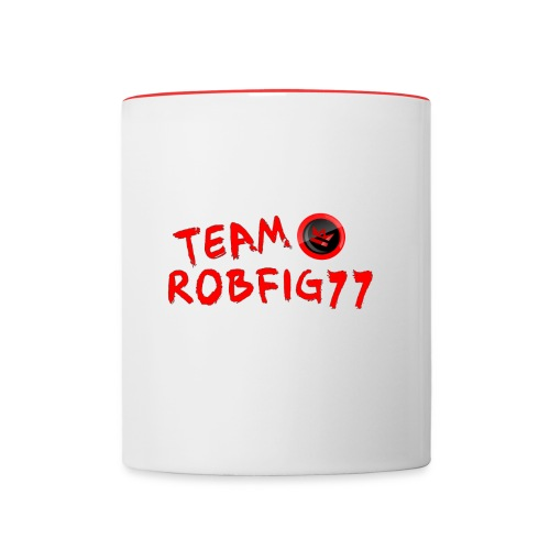 Team RobFig77 T-Shirt - Contrast Coffee Mug