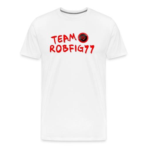 Team RobFig77 T-Shirt - Men's Premium T-Shirt
