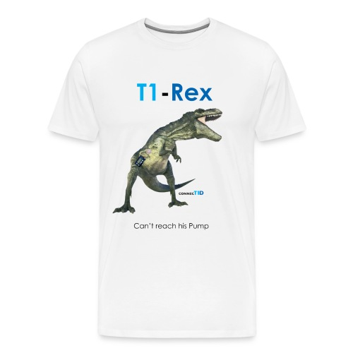 T1D-Rex T shirt - Men's Premium T-Shirt