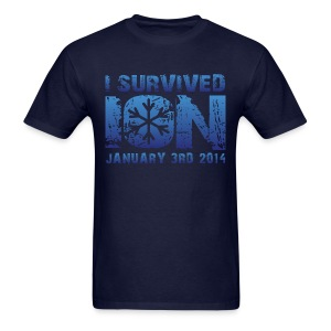 I Survived ION '14 - Men's T-Shirt