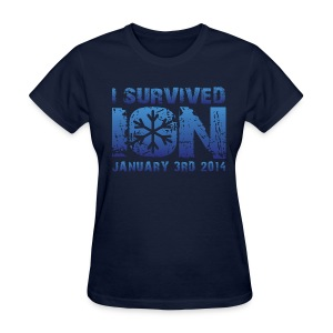 I Survived ION '14 - Women's T-Shirt