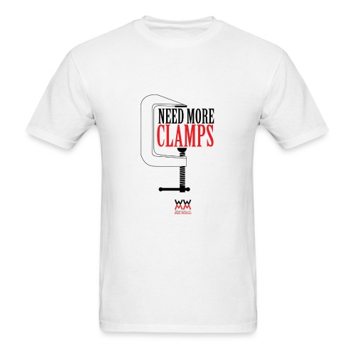 Need more clamps. - Men's T-Shirt