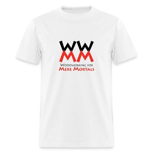 Woodworking for Mere Mortals logo shirt - Men's T-Shirt