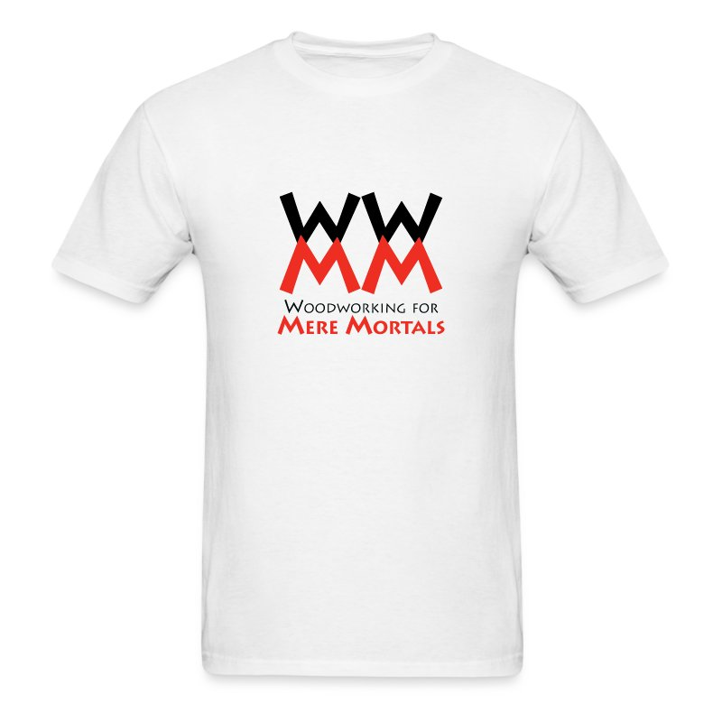 Woodworking for Mere Mortals logo shirt - Men's T-Shirt