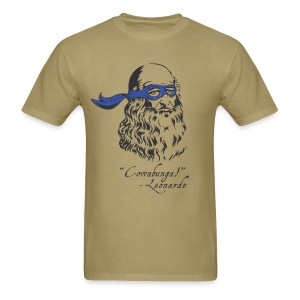 Leonardo Says! - Men's T-Shirt