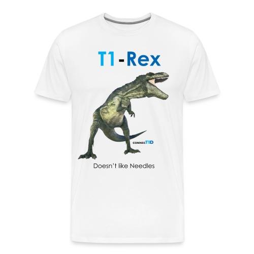t1-rex t1-shirt - Men's Premium T-Shirt