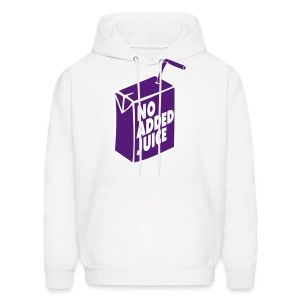 NO ADDED JUICE (Purple Design) - Hoodie - Men's Hoodie