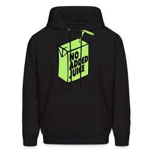 NO ADDED JUICE (Green Design) - Hoodie - Men's Hoodie