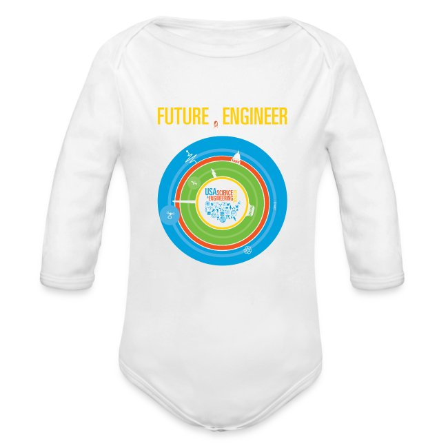 Baby Future Engineer Long Sleeve    (Front Design Only)