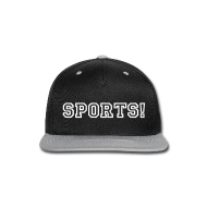 Sportswear ~ Snap-back Baseball Cap ~ SPORTS! Snapback Hat