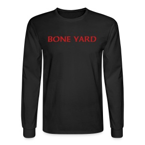 BONE YARD - Men's Long Sleeve T-Shirt