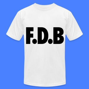 F.D.B T-Shirts - Men's T-Shirt by American Apparel