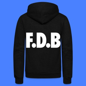 F.D.B Zip Hoodies & Jackets - Unisex Fleece Zip Hoodie by American Apparel