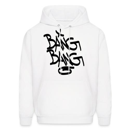 Bang Bang Hoodie (White) - Men's Hoodie