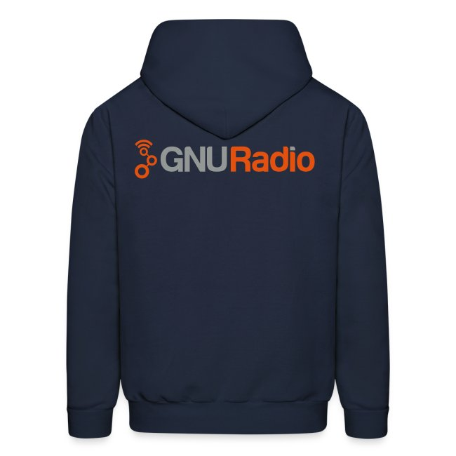 The GNU Radio Hoodie (Blue)