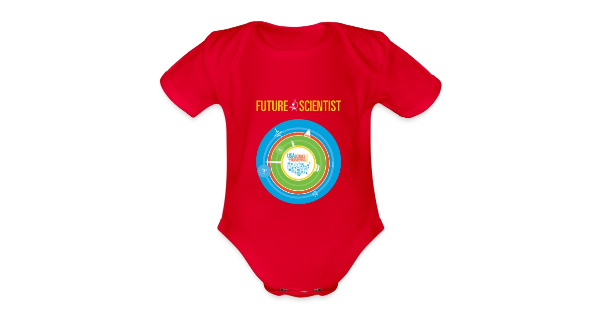 c5656f374d23 Baby Future Scientist (Front Design Only)