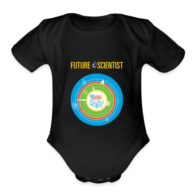 Baby Future Scientist  (Front Design Only)