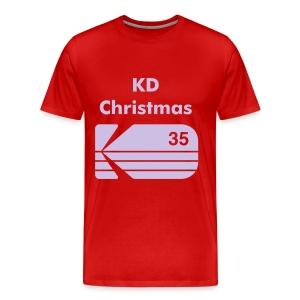 Rich E$t Shirt (KD Christmas bound) - Men's Premium T-Shirt
