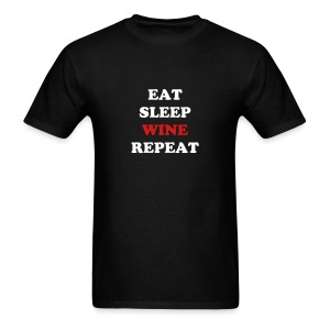 Eat.Sleep.Wine.Repeat 2014 - Men's T-Shirt