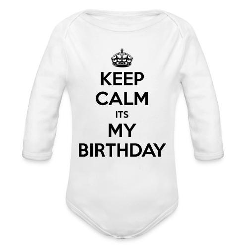 Baby Icon - Organic Long Sleeve Baby Bodysuit