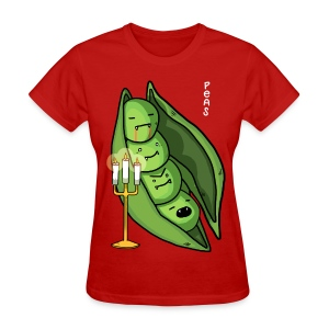 Peas - Vampire (Food Reviews) - Women's T-Shirt