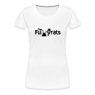 T-Shirts ~ Women's Premium T-Shirt ~ TheFunnyrats White