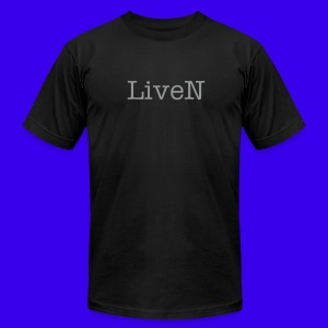 LiveN Tee - Men's T-Shirt by American Apparel