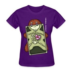 Candy Heart - Xray (Food Reviews) - Women's T-Shirt