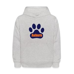 Auburn Tiger Paw Kid's Hoodie - Kids' Hoodie