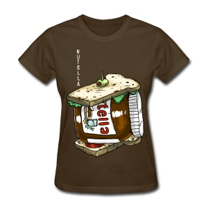 Nutella - Sandwich (Food Reviews) - Women's T-Shirt