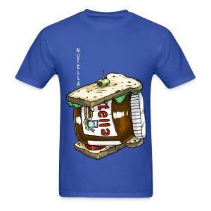 Nutella - Sandwich (Food Reviews) - Men's T-Shirt