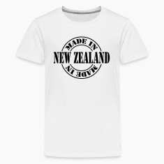 made_in_new_zealand_m1 Kids' Shirts