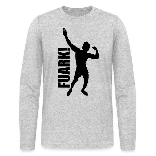 Long Sleeve T-Shirt Zyzz FUARK - Men's Long Sleeve T-Shirt by Next Level