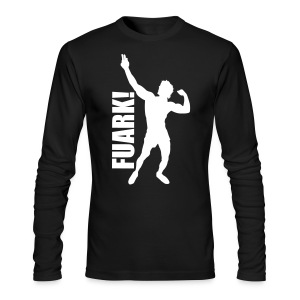 Long Sleeve T-Shirt Zyzz FUARK - Men's Long Sleeve T-Shirt by Next Level