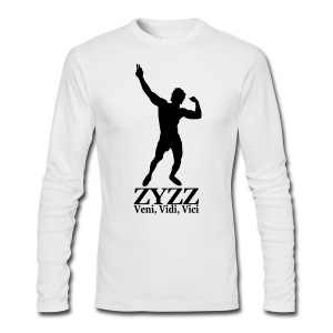 Long Sleeve T-Shirt Zyzz Veni, Vidi, Vici - Men's Long Sleeve T-Shirt by Next Level