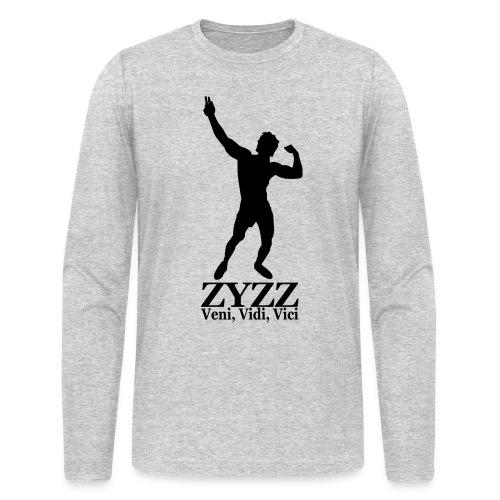 Long Sleeve T-Shirt Zyzz Veni, Vidi, Vici - Men's Long Sleeve T-Shirt by Next Level