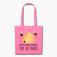 30th Anniversary Honey Bees Bags & backpacks