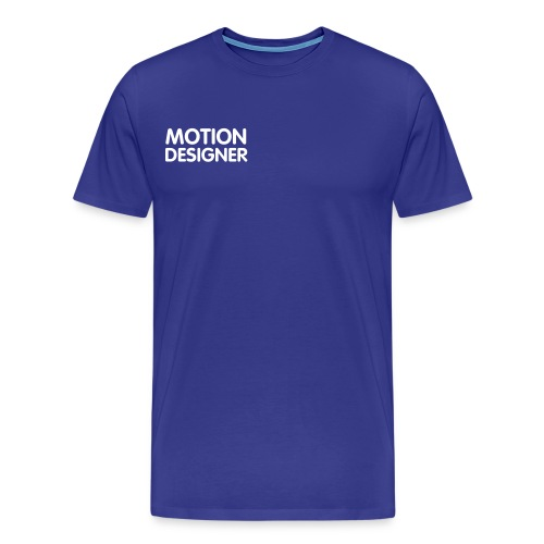 Motion Designer  - Men's Premium T-Shirt