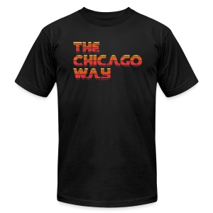 The Chicago Way - Men's T-Shirt by American Apparel