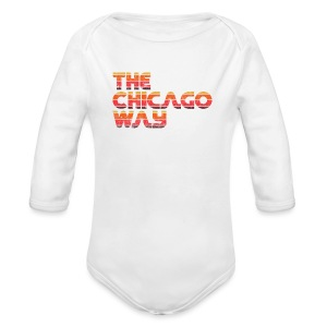 The Chicago Way - Long Sleeve Baby Bodysuit