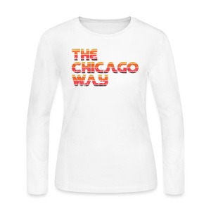 The Chicago Way - Women's Long Sleeve Jersey T-Shirt