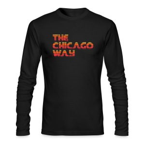 The Chicago Way - Men's Long Sleeve T-Shirt by Next Level