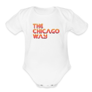 The Chicago Way - Short Sleeve Baby Bodysuit