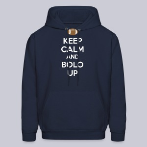 Keep Calm and Bolo Up - Men's Hoodie