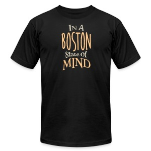 In A Boston State of Mind - Men's T-Shirt by American Apparel