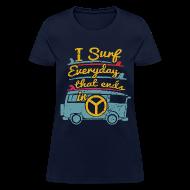 Women's T-Shirts ~ Women's T-Shirt ~ Surf Daily