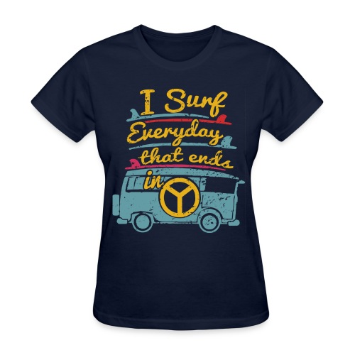 Surf Daily - Women's T-Shirt