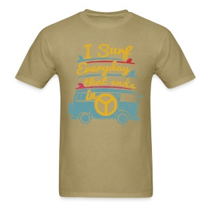 Surf Daily - Men's T-Shirt